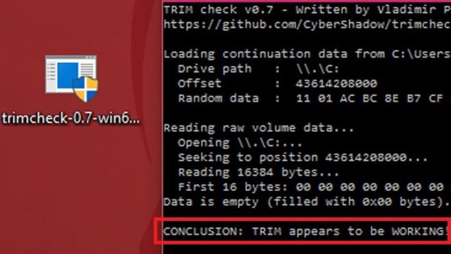 Trimcheck: SSD auf Speed-Funktion prüfen ©COMPUTER BILD
