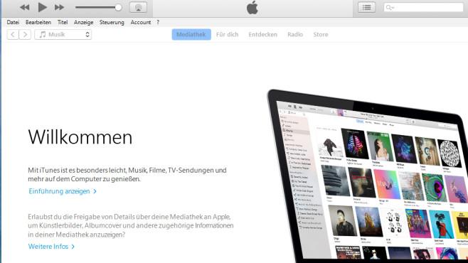 iTunes: Multimedia-Dateisammlung verwalten ©COMPUTER BILD
