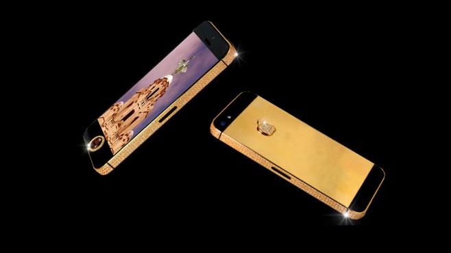 iPhone 5 Black Diamond ©Stuart Hughes