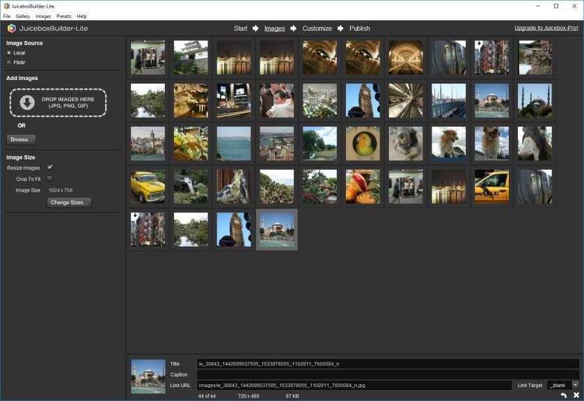 Screenshot 1 - Juicebox Lite