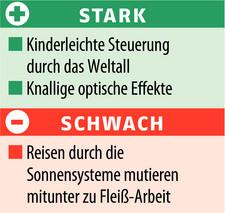 Darkstar One: Kurzkritik