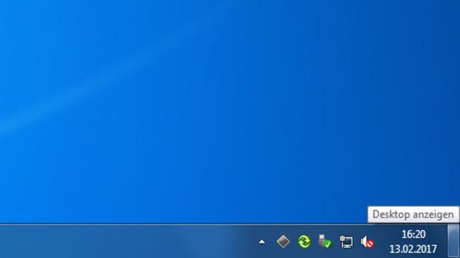 Desktop anzeigen ©COMPUTER BILD