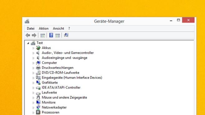 Geräte-Manager ©COMPUTER BILD