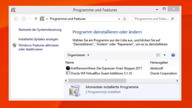 Programme und Funktionen ©COMPUTER BILD