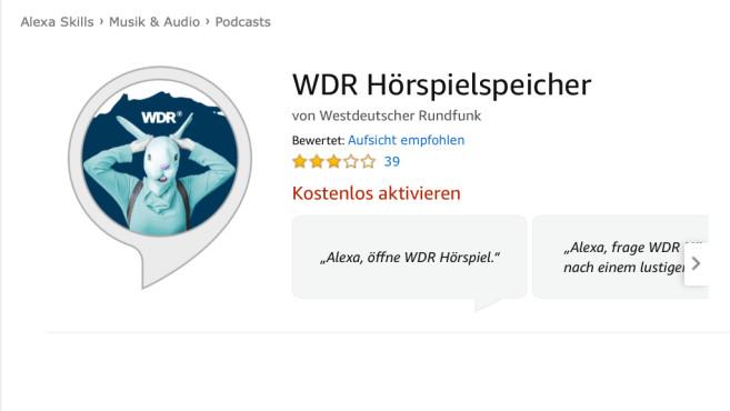 WDR Hörspielspeicher ©Amazon