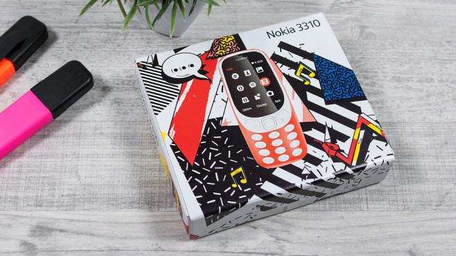 Nokia 3310 in Verkaufsverpackung©COMPUTER BILD