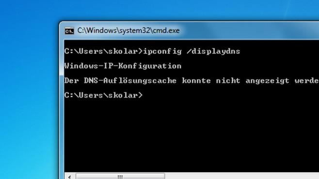 DNS-Cache manuell leeren ©COMPUTER BILD