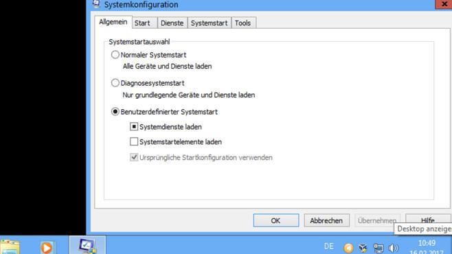 Diagnosesystemstart ©COMPUTER BILD