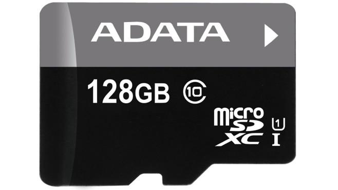 Adata Premier microSDXC 128GB Class 10 UHS-I U1 (AUSDX128GUICL10-R) ©Adata