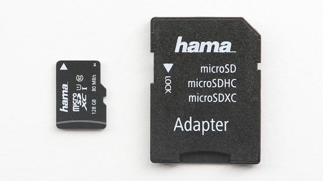 Hama microSDXC 128GB Class 10 UHS-I U1 (00124160) ©COMPUTER BILD