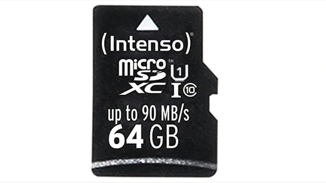 Intenso Professional microSDXC 64 GB UHS-I © Intenso