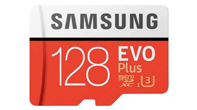 Samsung EVO Plus (2017) microSDXC 128GB (MB-MC128GA) ©Samsung
