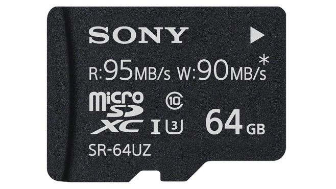 Sony SR-UZA microSDXC 64GB (SR-64UZ) ©Sony