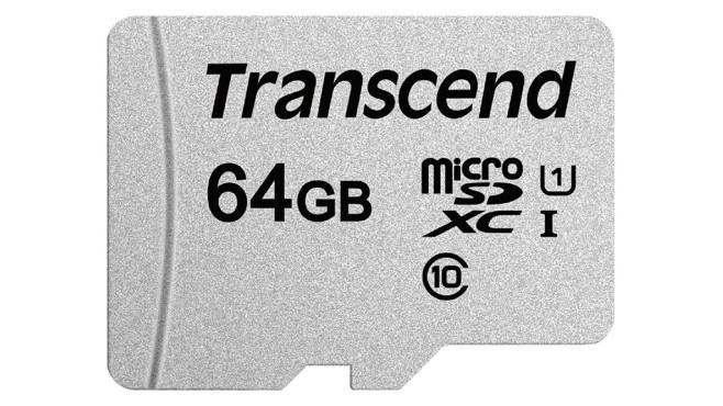Transcend 300S microSDXC 64GB ©Transcend