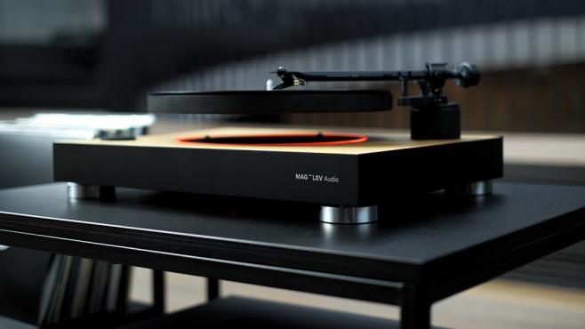 MAG-LEV Audio: Schwebender Plattenspieler©MAG-LEV Audio