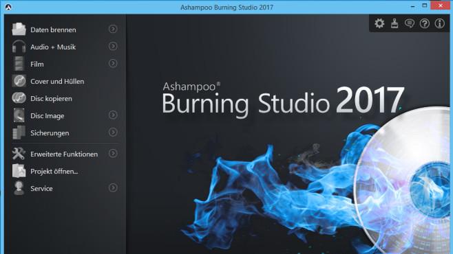 Platz 27: Ashampoo Burning Studio 2017 – Kostenlose Vollversion (Vormonat: Platz 9) ©COMPUTER BILD
