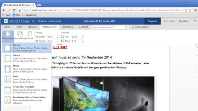 Platz 29: Microsoft Word Online (Vormonat: Platz 41) ©COMPUTER BILD