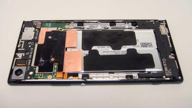 Sony Xperia XA1 Ultra Innen©COMPUTER BILD