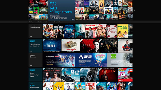 Amazon Prime Video © Amazon, COMPUTER BILD