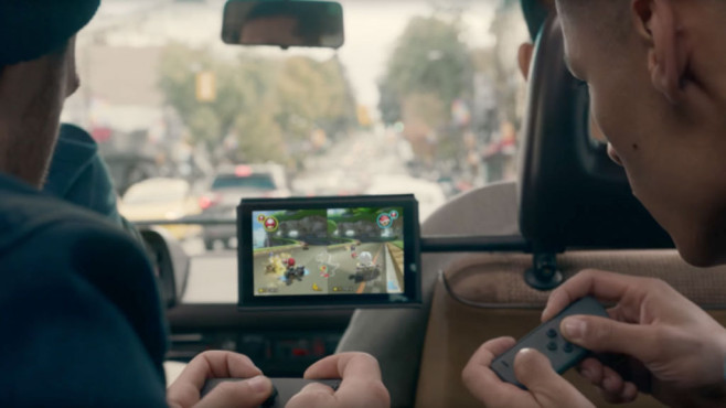 Nintendo Switch: Konsolenbindung©Nintendo