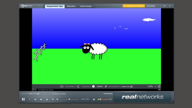Feuerfuchs-Download, Donnervogel & Co.: Die besten Tier-Downloads Herzallerliebst, oder? Dann gewähren Sie dem Schafs-Audioplayer Obdach.©COMPUTER BILD