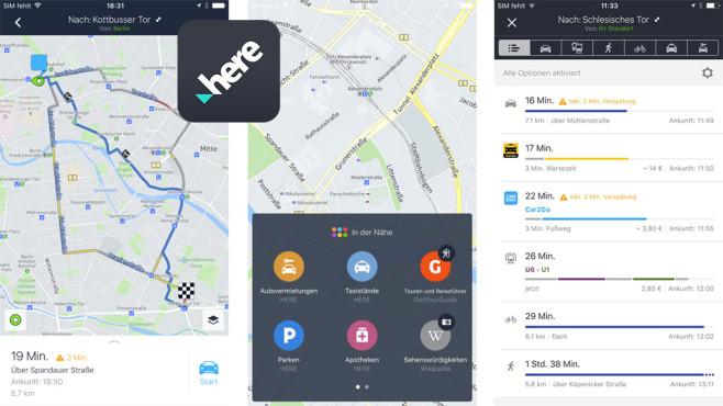 Here WeGo – Routenplaner & offline Navigation ©HERE Apps LLC