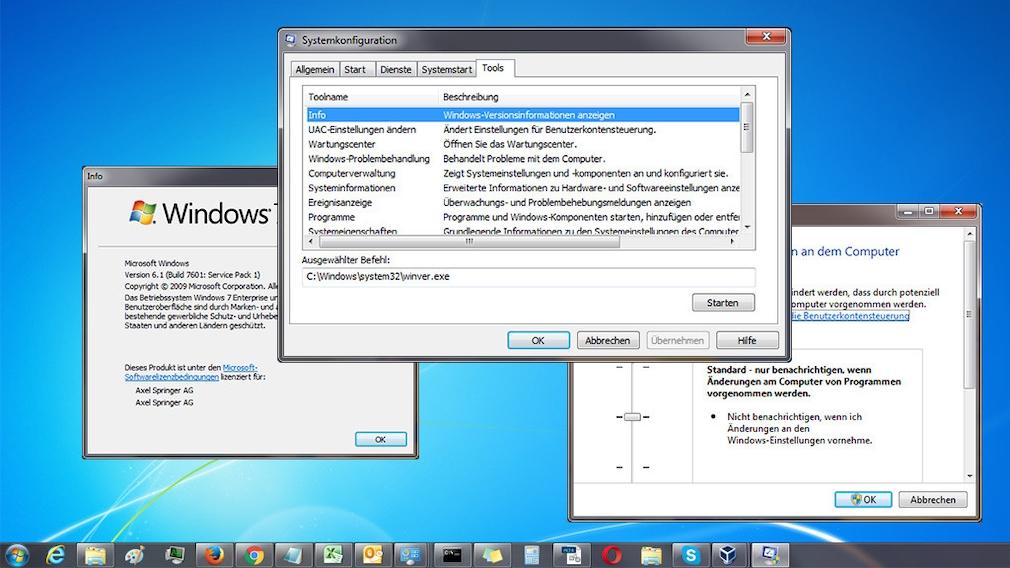 """MSconfig: Tipps zu verborgenen Bordmittel-Schätzen Das Programm für die – wie Microsoft es nennt – """"Systemkonfiguration"""" beherrscht mehr als Konfigurieren. Nach dem Start öffnen Sie sprichwörtlich die Windows-Schatzkiste.©COMPUTER BILD"""