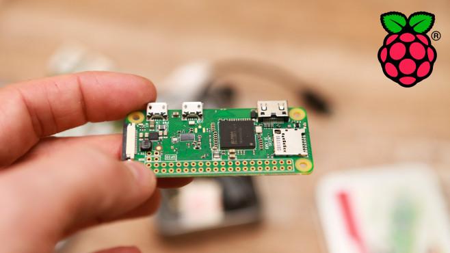 Raspberry Pi Zero W©COMPUTER BILD, Raspberry Pi Foundation