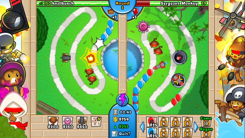 Screenshot 1 - Bloons TD Battles