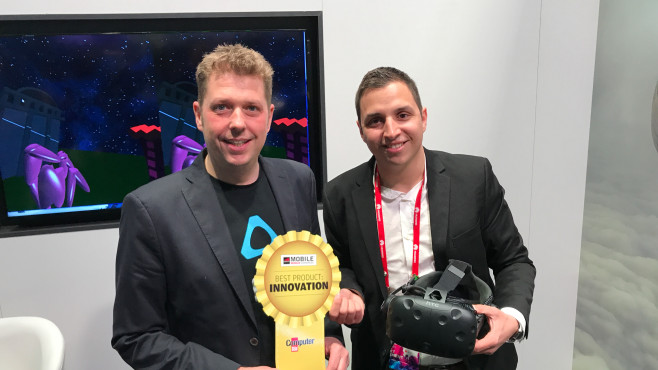 Best Product Award Innovation: HTC MakeVR © COMPUTER BILD