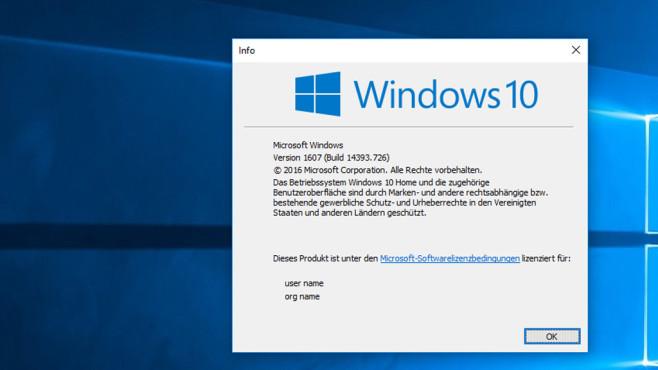 Windows 10 Home ©COMPUTER BILD