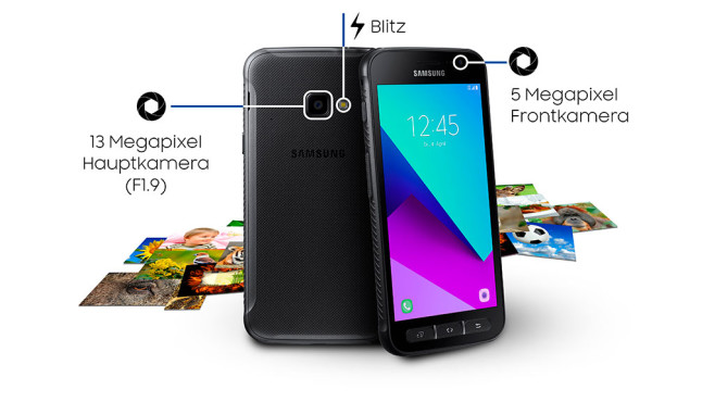 Samsung Galaxy Xcover 4: Kamera-Features © Samsung