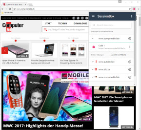 SessionBox für Chrome