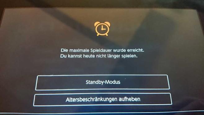 Nintendo Switch: KIndersicherung©Nintendo, COMPUTER BILD SPIELE