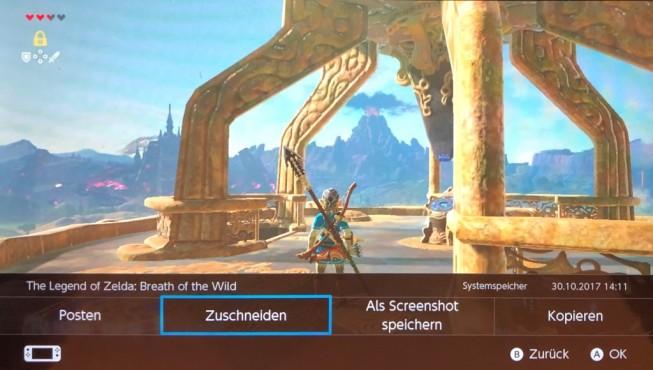 Nintendo Switch: Videos schneiden©Nintendo, COMPUTER BILD SPIELE