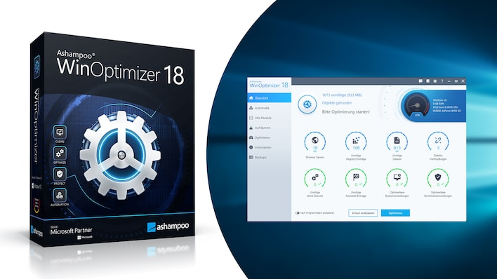 Ashampoo WinOptimizer 18 – Kostenlose Vollversion: PC schneller machen