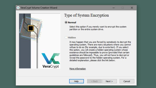 Veracrypt: Schnüffler aussperren ©COMPUTER BILD
