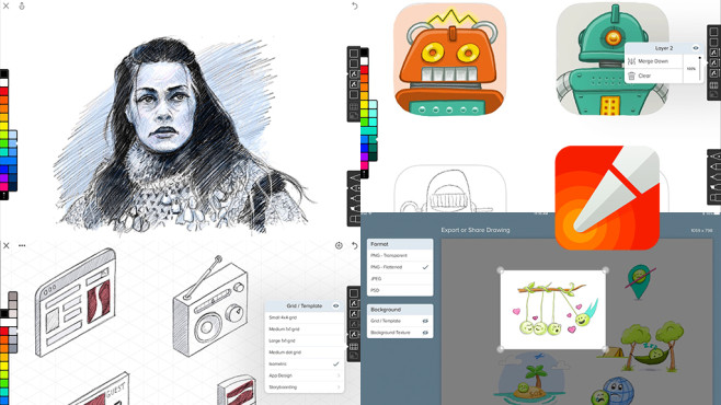 Linea – Sketch Simply © The Iconfactory