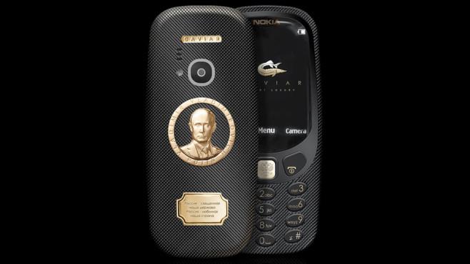 Nokia 3310: Putin-Edition©Caviar Russia