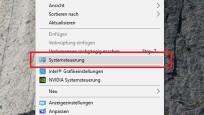Ins Desktop-Kontextmenü bringen©COMPUTER BILD
