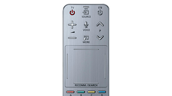 Schnüffelnde Samsung Fernseher: So finden Sie heraus, ob Ihr Smart-TV Sie belauscht Bei den älteren Samsung-Fernsehern hatte nur die Zweit-Fernbedienung ein Mikrofon. Man kommt auch gut alleine mit der Hauptfernbedienung ohne Mikrofon aus.©Samsung