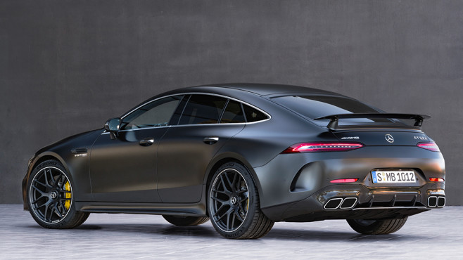 Mercedes-AMG GT 4-Türer Coupé © Mercedes-Benz