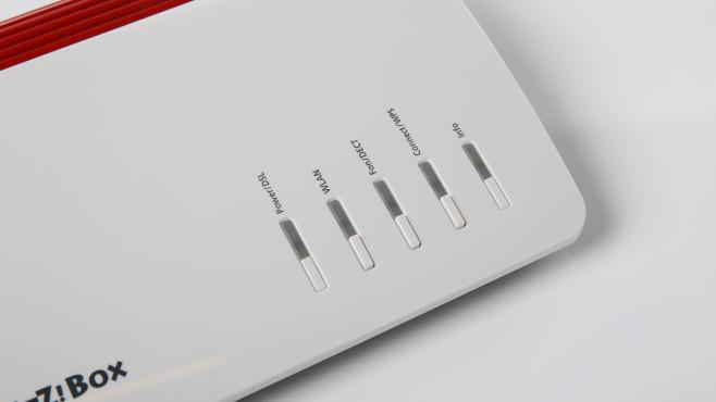 AVM FritzBox 7590: Helligkeit der LED-Leuchten©COMPUTER BILD
