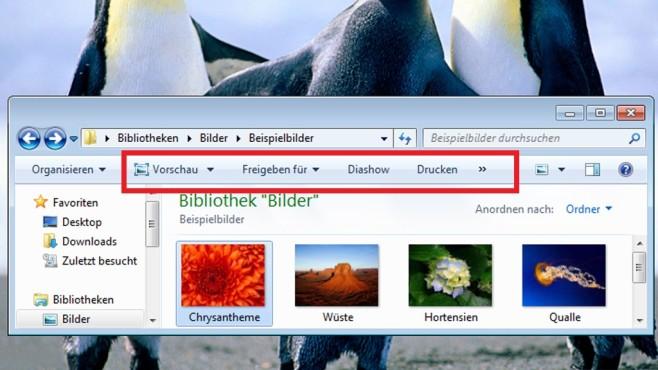 Dateien präsentieren und sichern ©COMPUTER BILD
