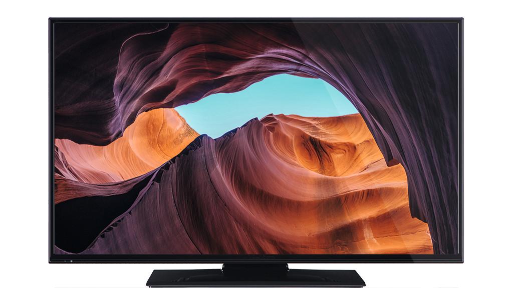 OK ODL 40650: Was taugt der Fernseher von Media Markt und Saturn? Der Fernseher OK ODL 40650 sieht mit seinem schwarzen Rahmen schlicht aus, Bild und Ton sind für den günstigen Preis ok.©Imtron