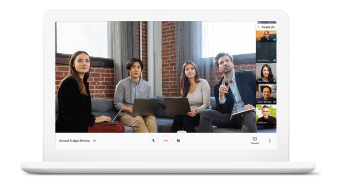 Google Hangouts Meet©Google