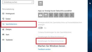 Windows 10: Bildschirmschoner ändern – verschiedene Möglichkeiten Zum Ändern des Bildschirmschoners muss Windows aktiviert sein. Ist es das, klicken Sie die hier grau dargestellte Klickfläche unten an.©COMPUTER BILD