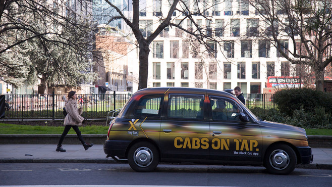 MyTaxi startet in London © MyTaxi