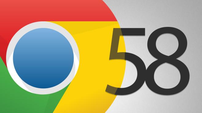 Google Chrome 58©COMPUTER BILD, Google