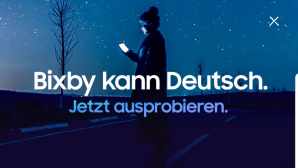 Samsung Bixby lernt Deutsch©Screenshot: COMPUTER BILD
